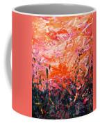 Bluegrass Sunrise - Crimson A-left Coffee Mug