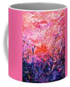 Bluegrass Sunrise - Rose A-left Coffee Mug