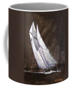Bluenose At Night Coming Coffee Mug