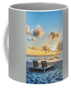 Blues And Golds Of Summer II Coffee Mug