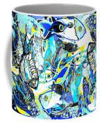 Blues Fishes Coffee Mug