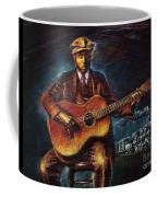Blues Guitarist Coffee Mug