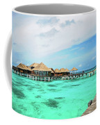 Blues In Maldivian Performance  Coffee Mug