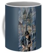 Blues Of Prague. Coffee Mug