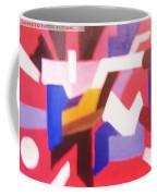 Blues On Rouge   Coffee Mug