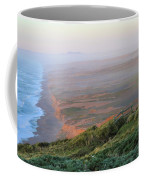 Bluffs And South Beach Point Reyes Coffee Mug