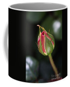 Blushing Rose Bud Coffee Mug