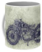 Bmw R32 - 1919 - Motorcycle Poster 1 - Automotive Art Coffee Mug