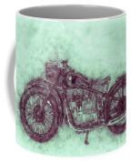 Bmw R32 - 1919 - Motorcycle Poster 3 - Automotive Art Coffee Mug
