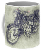 Bmw R60/2 - 1956 - Bmw Motorcycles 1 - Vintage Motorcycle Poster - Automotive Art Coffee Mug