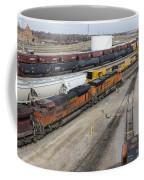 Bnsf Northtown Yard 5 Coffee Mug