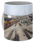 Bnsf Northtown Yard 6 Coffee Mug