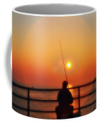 Boardwalk Fishing Coffee Mug