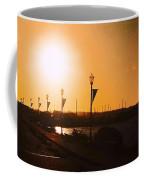 Boardwalk Sunset Coffee Mug