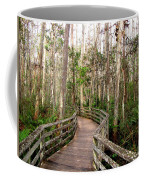 Boardwalk Through Corkscrew Swamp Coffee Mug