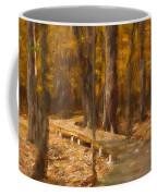 Boardwalk Through The Woods Coffee Mug