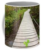 Boardwalk To Backguard Falls In British Columbia Coffee Mug