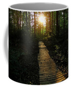 Boardwalk To The Sun Coffee Mug