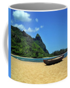 Boat And Bali Hai Coffee Mug