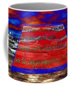 Boat As Art With Text Coffee Mug