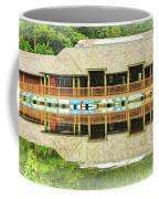 Boat House At Verona Park  Coffee Mug