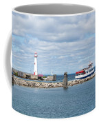 Boat Leaving Coffee Mug