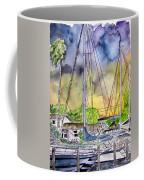 Boat Marina Coffee Mug