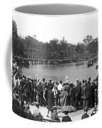 Boat Races In Central Park Coffee Mug