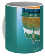 Boat Reflection In Water  Coffee Mug