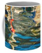 Boat Reflections - Hvar Croatia Coffee Mug