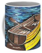 Boat Reflections Coffee Mug