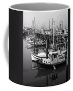 Boat Reflections Coffee Mug