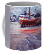 Boat Reparing Coffee Mug