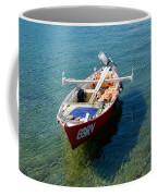 Boat Small Rovinj Croatia Coffee Mug