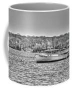 Lobster Boat Mount Sinai Harbor Li.ny Coffee Mug