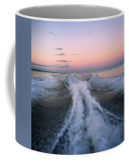 Boat Waves Coffee Mug