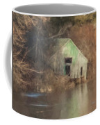 Boathouse On Solstice Coffee Mug