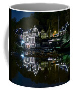 Boathouse Row Eight By Ten Coffee Mug