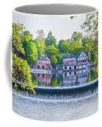 Boathouse Row - Framed In Spring Coffee Mug