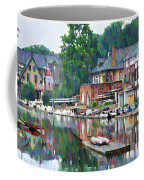 Boathouse Row In Philadelphia Coffee Mug
