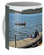 Boating And Sitting On The Dock Coffee Mug