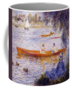 Boating At Argenteuil 1873 Coffee Mug