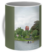 Boating In Thorpeness Coffee Mug