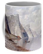 Boating On A Norwegian Fjord Coffee Mug