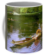 Boating Scene At Maidenhead Sir John Lavery Coffee Mug