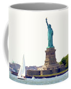 Boating With Liberty Coffee Mug