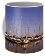 Boats And Reflections Coffee Mug