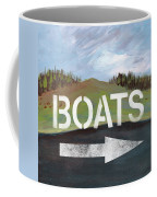 Boats- Art By Linda Woods Coffee Mug