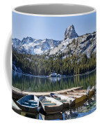 Boats At Dock Coffee Mug