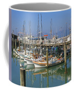 Boats At Fisherman Coffee Mug